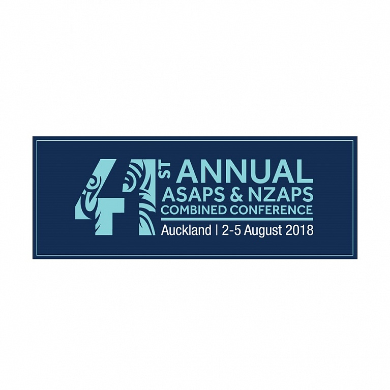 41st Australasian Society of Aesthetic Plastic Surgeons (ASAPS) Annual Conference – 2018